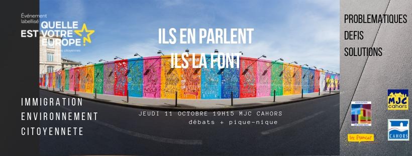 Consultation citoyenne européenne le 11 Octobre à Cahors