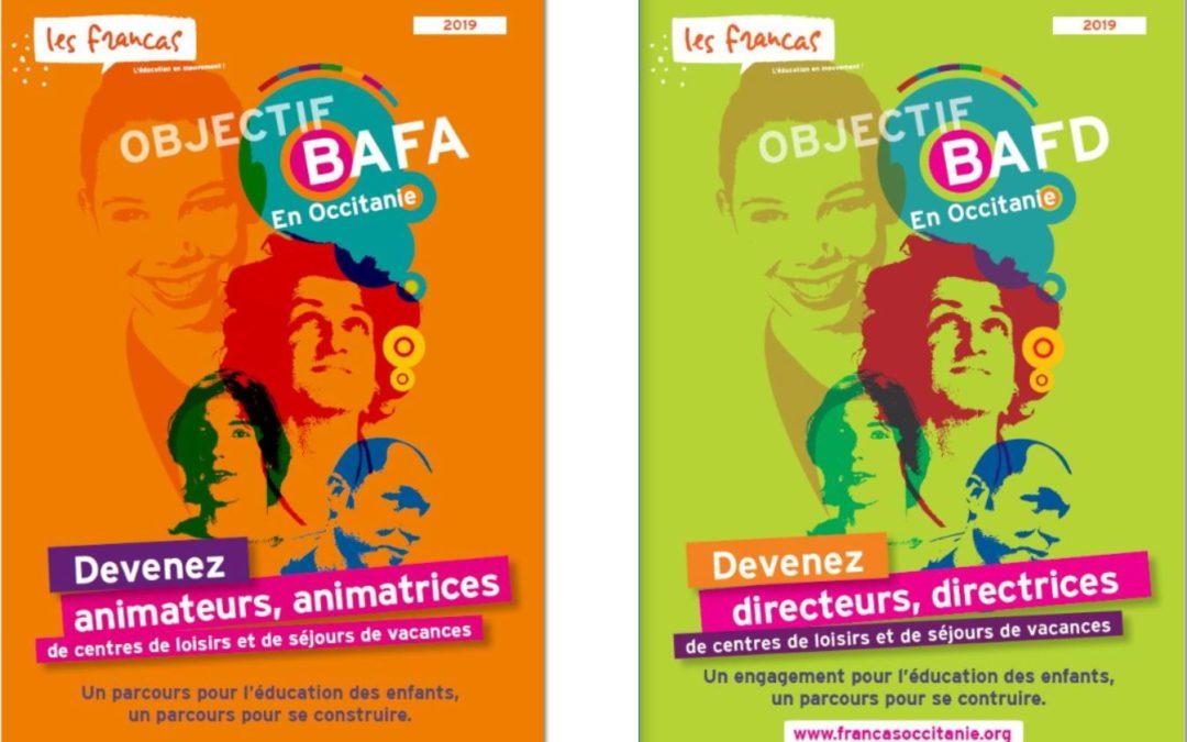 Programme 2019 des formations BAFA et BAFD en Occitanie