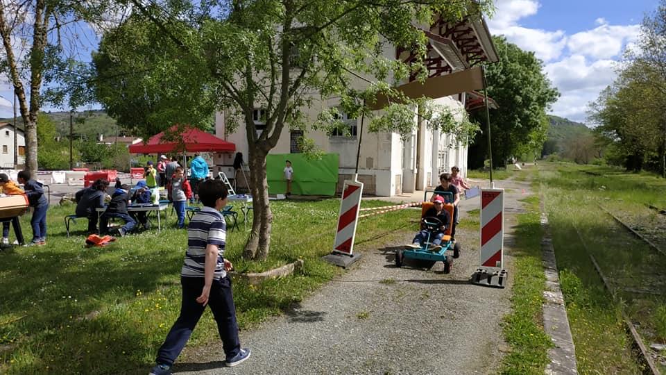 L'événement « Push-Cajarc » a regroupé quatre centres de loisirs et beaucoup de convivialité !
